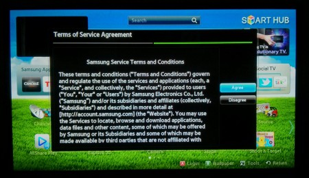 Photo: Samsung: New Terms and Conditions