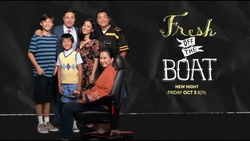 Promo graphics for Fresh Off the Boat