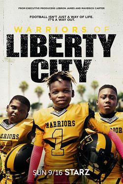 Poster for Warriors of Liberty City