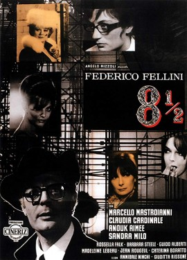 Poster for 8½