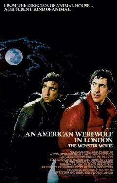Poster for An American Werewolf in London