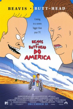 Poster for Beavis And Butt-head Do America