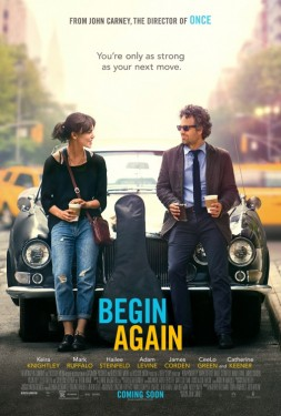 Poster for Begin Again