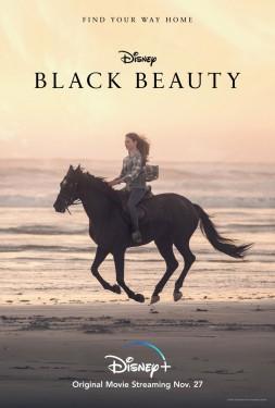 Poster for Disney+ Original Film Black Beauty