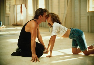 Screen capture from the movie Dirty Dancing