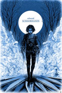 Poster for Edward Scissorhand