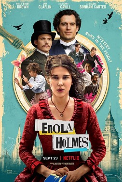 Poster for Enola Holmes