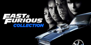 Promo graphics for Fast & Furious Collection