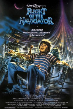 Poster for Flight of the Navigator
