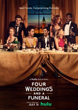 Poster for Four Weddings and a Funeral (2019)