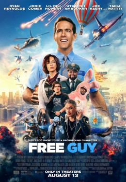 Poster for Free Guy