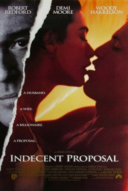 Poster for Indecent Proposal