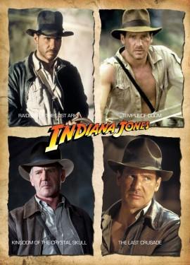 Poster for Indiana Jones Quadrilogy