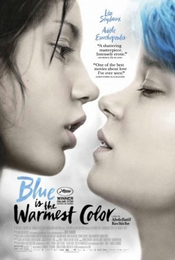 Poster for Blue is the Warmest Color