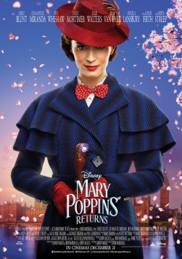 Poster for Mary Poppins Return