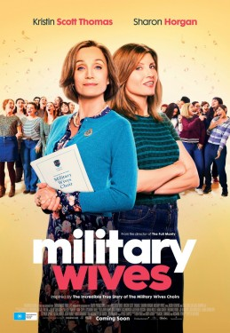 Poster for Military Wives