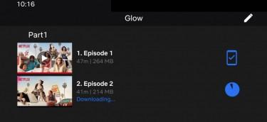 Screenshot from Netflix Smart Downloads Promo Video
