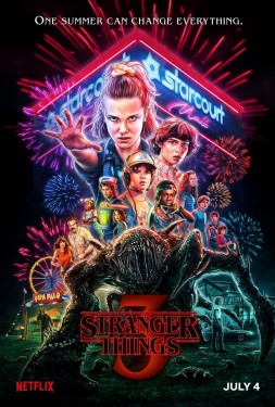 Poster for Stranger Things 3