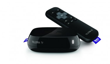 Photo of the Telstra TV device