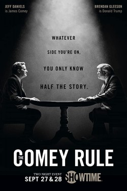 Poster for The Comey Rule