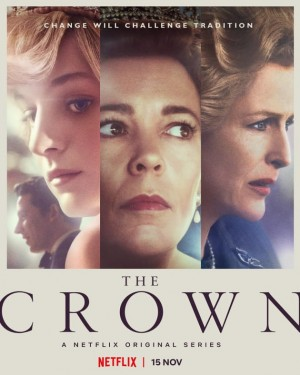 Poster for The Crown Season 4