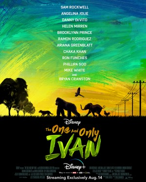 Poster for The One and Only Ivan