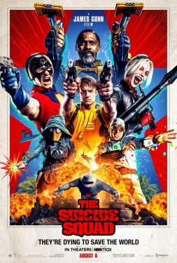 Poster for The Suicide Squad