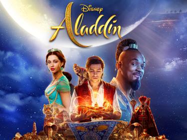Poster for Aladdin