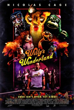 Poster for Willy's Wonderland