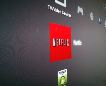Photo of PS3 XMB with Netflix App