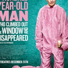Poster for The Hundred Year-Old Man Who Climbed Out of the Window and Disappeared