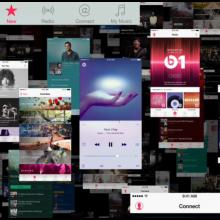Screenshot from Apple Music promo video