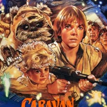 Poster for Star Wars: Ewok Adventures - Caravan of Courage