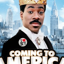 Poster for Coming to America