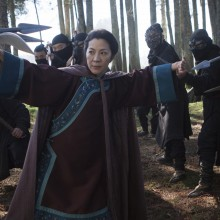 A scene from the upcoming movie Crouching Tiger, Hidden Dragon: The Green Legend