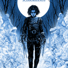 Poster for Edward Scissorhand