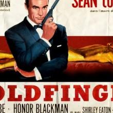 Poster for Goldfinger