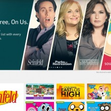 Screenshot of the official Hulu website