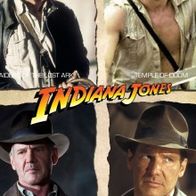 Poster for Indiana Jones Quadrilogy