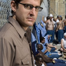 Photo from documentary Louis Theroux Behind Bars