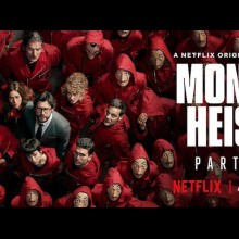 Poster for Money Heist Season 4