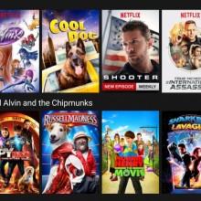Screenshot showing Netflix's download feature