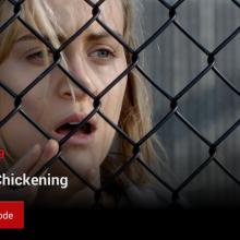 """Screenshot showing Netflix's """"Post-Play"""" feature"""