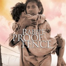 Poster for Rabbit Proof Fence