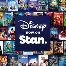 Disney on Stan promo graphics