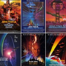 Poster for Star Trek Movies