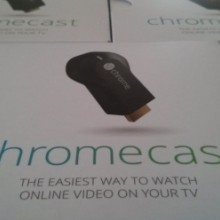 Photo of Chromecast boxes