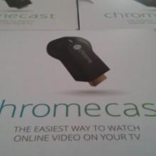 Photo of Chromecast boxes